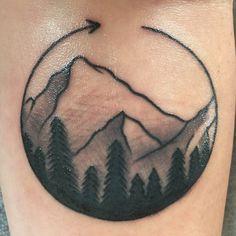 #mountains #tattoo