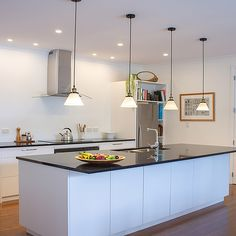 We provide a comprehensive package from design to installation; specialising in kitchens, laundries and wardrobes. New Builds, Joinery, Wardrobes, Innovation, Kitchen Design, Kitchens, Ceiling Lights, Building, Table