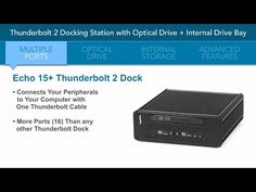 Sonnet - Echo 15+ Thunderbolt 2 Dock