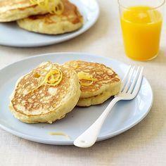 Pancakes citronnés à la ricotta   Recette Minceur   Weight Watchers