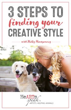 Are you an artist tackling the big task of finding their true 'style'? Here are 3 tips from professional pet photographer and HeARTs Speak member Holly Montgomery. Animal Photography, Photography Tips, Pet Photographer, Great Pictures, Pet Adoption, Finding Yourself, Hearts, Shelters, Big