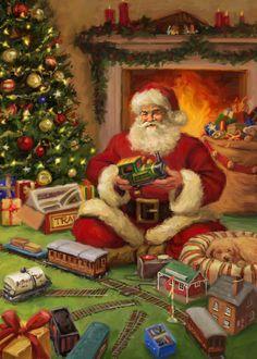 Christmas eve Images – Merry Christmas Eve Im Merry Christmas Eve, Victorian Christmas, Father Christmas, Retro Christmas, Santa Christmas, Country Christmas, Primitive Christmas, Christmas Cover, Xmas