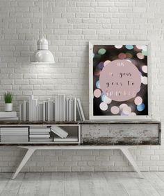 office decorations, pink girl room print, teen art, contemporary art, pink circle, quote art, cubicle print, pink circle wall art, pink circle print, pink circle poster, motto quote, office interior, life quote print | Fine Art Photography by Martyna Trinkuniene { Follow me on Instagram @martyna_trinkuniene }