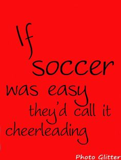 I live....love.....soccer and hockey