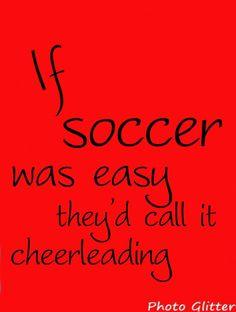 I live....love.....soccer and hockey