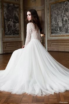 Daalarna Wedding Dress 2014 Bridal Collection. La Mariée en Colère - Galerie d'inspiration, mariée, bride, mariage, wedding, robe mariée, wedding dress, white, blanc, robe de mariée