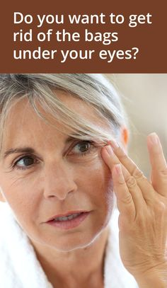 how to get rid of under eye bags without surgery