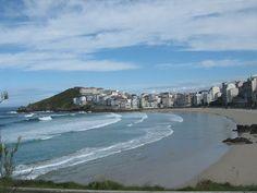 Praia Grande. Malpica de Bergantiños. (A Coruña). Galicia. Spain.