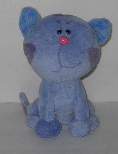 """Ty Periwinkle Stuffed Plush Kitty Cat Kitten Blues Clues 6"""" #Ty"""