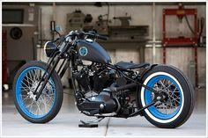 DP Customs - 'Seventy Three' HarleyIronhead - Pipeburn - Purveyors of Classic Motorcycles, Cafe Racers & Custom motorbikes