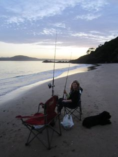 Just another relaxing night at Wellingtons Bay, Tutukaka
