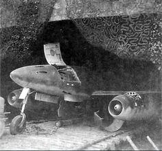 Me 262 Waldwerk Kuno 1 Leipheim (?)