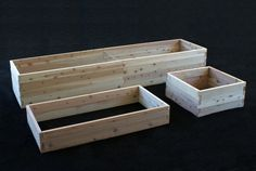Rectangle raised beds are affordable, attractive, and perfect for both traditional and urban gardens.