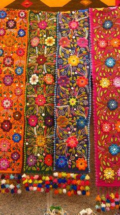 World Of Color, Color Of Life, Textiles, Contemporary Decorative Art, Peruvian Art, Book Of Kells, Iranian Art, Naive Art, Funky Furniture