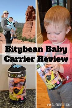 Bitybean Baby Carrier Review: Looking for a compact baby and toddler carrier to use for travel? Get all the details on the reasonably priced and very compact Bitybean.