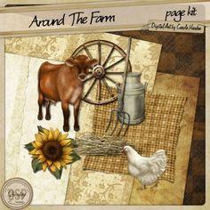 Around The Farm page kit [DL-CH-K-AroundTheFarm]