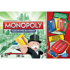 Monopoly Electronic Banking Game #monopoly #boardgames #games #kids