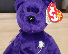 5d08ce98ecb Items similar to Ty Beanie Baby Gobbles - RARE with Errors - Mint Condition  on Etsy