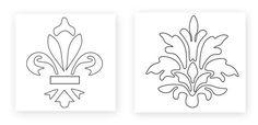 Vâmo Lá em Casa: Como Fazer Stencil para Decoração de Paredes (