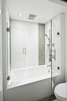 Superior Deep Bathtub Shower Combo Bathtubs Idea, Deep Soaking Tub Shower Combo Small Japanese Soaking Tub Charming White Walk In . Bathtub Shower Combo, Bathroom Tub Shower, Bath Tub, Bath Room, Tub Shower Combination, Glass Shower, Soaker Tub With Shower, Frameless Shower, Vanity Bathroom