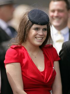 Princess Eugenie.....actually I did not want a hat......but I am a princess you know.....