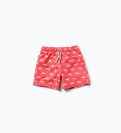 Lobster swim trunks-Swimwear-Boy (3-14 years)-KIDS | ZARA United States