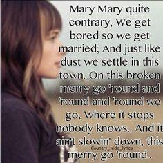 Kacey Musgraves Merry Go Round Lyrics