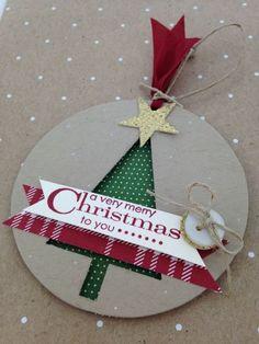 Recorte el Tag Tree por Andrea Brewster, entubado directamente de la maliciosa vacaciones - Me encantó este!