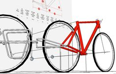 #sketchup #buildabike #bikecomponent #biketrailer