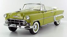 Sunstar 1/18 Scale 1953 Chevy Bel Air Convertible Gold Diecast Car Model SS 1622 www.DiecastAutoWorld.com 2312 W. Magnolia Blvd., Burbank, CA 91506 818-355-5744 AUTOart Bburago Movie Cars First Gear GMP ACME Greenlight Collectibles Highway 61 Die-Cast Jada Toys Kyosho M2 Machines Maisto Mattel Hot Wheels Minichamps Motor City Classics Motor Max Motorcycles New Ray Norev Norscot Planes Helicopters Police and Fire Semi Trucks Shelby Collectibles Sun Star Welly