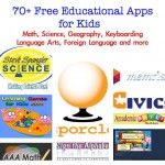 70+ Free Educational Games for Math, Geography, Science and More