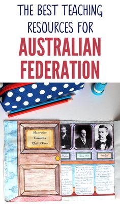 This fantastic range of Australian Federation teaching resources are aligned with the Australian Curriculum and are the perfect tool to help you teach this tricky topic. These Australian Federation teaching resources are fun, interactive and hands-on because we believe this important topic shouldn't be boring and that Australian Upper Primary teachers deserve great resources that make their life easier! Primary Teaching, Primary Classroom, Teaching Kindergarten, Classroom Activities, Teaching History, Teaching Resources, Projects For Kids, Project Ideas, Research Skills