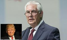 Trump to name Exxon CEO as secretary of state, reports claim #DailyMail
