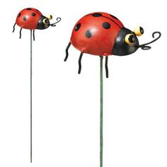 "REGAL Ladybug Plant Pick . $6.65. 4.5"" x 3"" x 13.25"". Metal. Add some cuteness to basic potted plants."