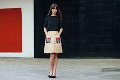 orla kiely skirt.