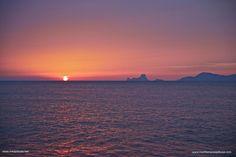 The last rays of sun- Mediterranea Pitiusa la Naviera de Formentera