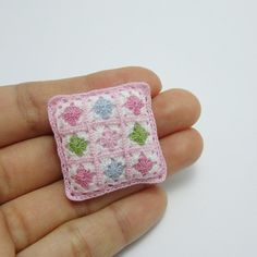 Hey, I found this really awesome Etsy listing at https://www.etsy.com/listing/260168304/little-crochet-pillow-for-dollhouse
