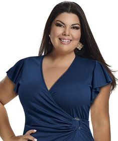Fabiana Karla by Hiroshima - Vestido em jersey acetinado Hiroshima, Plus Size Women, Plus Size Fashion, Gowns, Chic, Clothes, Dresses, Fashion Tips For Women, Feminine Fashion Style