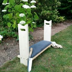 USAMade Cedar Garden Kneeler Seat Big B can make this for me to