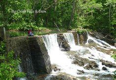 Dam at Historic Thomas Amis House Circa 1782 Rogersville TN.