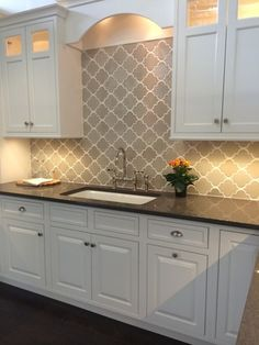 Handmade tiles for kitchen backsplash