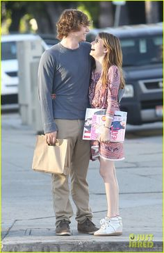 emma roberts evan peters loved up in la 07
