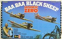 Revell 1/32 Baa Baa Black Sheep Japanese Zero