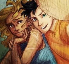 Percabeth selfie by Burdge. I just love this picture! Percy Jackson Annabeth Chase, Percy Jackson Fan Art, Percy And Annabeth, Percy Jackson Memes, Percy Jackson Books, Percy Jackson Fandom, Percabeth, Fanart, Dibujos Percy Jackson