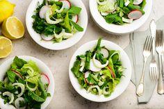Tereyağlı Fırında Kalkan Yanında Salata İle | Beyaz Fırın Blog