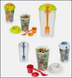 GREAT DEAL!!! Get not one but two Salad On The Go cups for just $7.99 shipped!