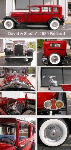 1930 Packard Sedan
