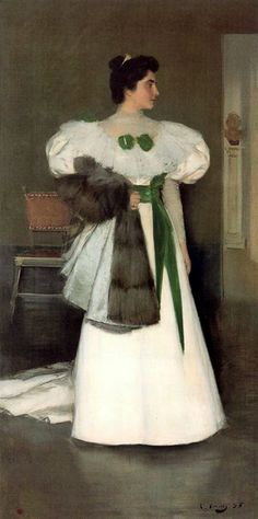 The Athenaeum - Portrait of a Lady (Ramon Casas y Carbó - )