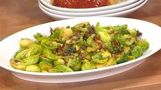 Brussels Sprouts with Pancetta /Valerie Bertinelli cooking segment for KLG