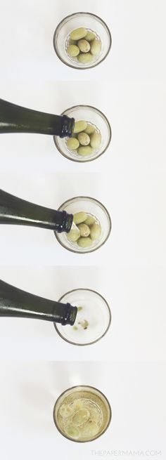 Frozen Grapes for Drinks // thepapermama.com